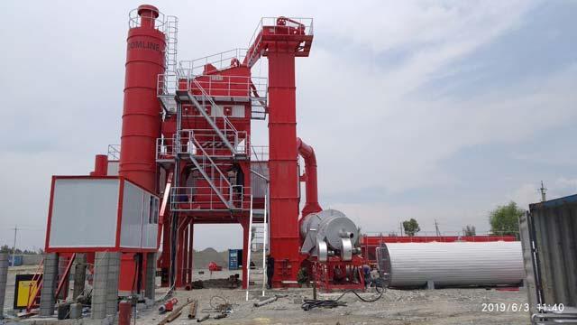ZAP-S120 Асфальтовый Завод в Узбекистане
