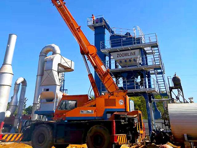 ZOOMLINE Новый проект асфальтного завода в Бангладеше